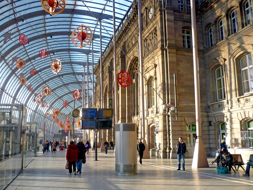 Gare de Strasbourg © French Moments