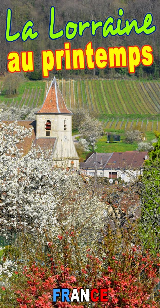 La Lorraine au printemps © French Moments